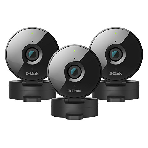 3-Pack D-Link Wireless-N Network Surveillance 720P Home Internet Camera DCS-936L (Certified Refurbished) -