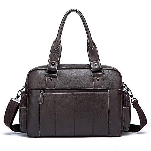 Uomo per Business Messenger Bag viaggi lavoro adatto Messenger 38 Messenger Bag Wy marrone Brown 10 ayng Tracolla 26cm XqRxwz
