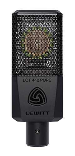 Lewitt LCT-440-PURE Large Diaphragm Condenser Microphone by Lewitt