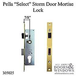 Pella Select 6000 Series Mortise Lock Storm Door H