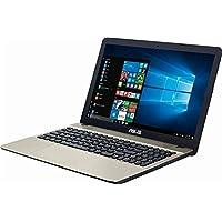 Asus VivoBook Max 15.6 inch HD Flagship High Performance Laptop PC | Intel Pentium N4200 Quad-Core | 4GB RAM | 500GB HDD | Bang & Olufsen Audio | USB Type-C | DVD +/-RW | Windows 10
