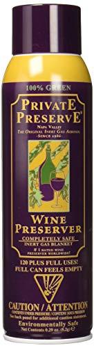 Private Preserve SS-TRU-1026 1026 Wine Preserver, The Original Inert Gas Aerosol 1 EA Multicolor