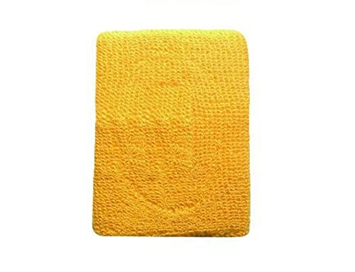 Terry Cloth Wristband Various Colors Sweatband (Gold)