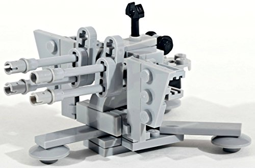 (Modern Brick Warfare WW2 German 2cm Flak 38 Anti-Aircraft Gun Custom Kit)