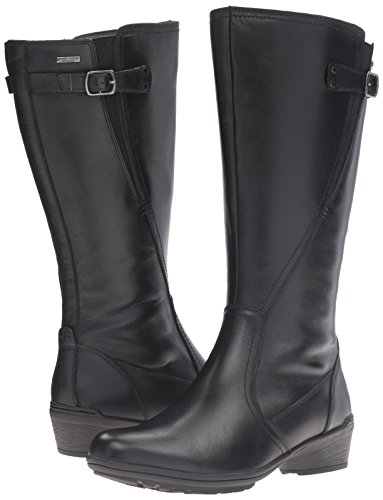 Rockport Cobb Hill Women's Cobb Hill Rayna Wide Calf Rain Boot, Black, 9 W US by Rockport (Image #6)