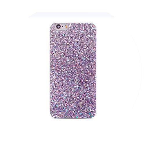 Crystal Sequins Phone Case for P Smart P20 Pro P10 P8 P9 Nova 2 2S 2i Honor 8 9 10 Cases Purple Mate 10 Lite,Purple,Mate10Lite (Dip 5a Purple)