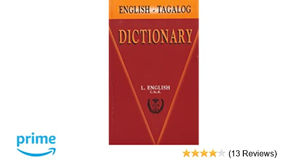 Knitting Meaning In Tagalog : English tagalog dictionary: leo james english: 9789710810734: amazon