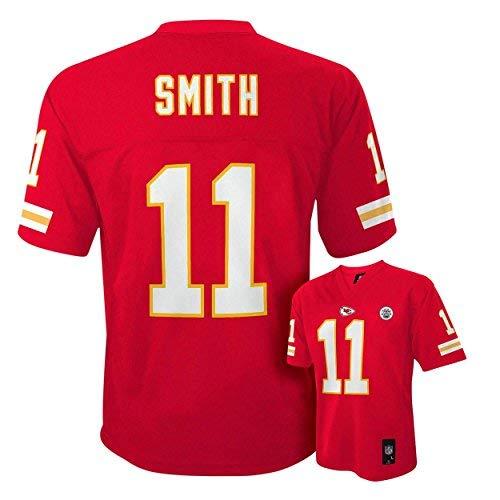 Alex Smith Kansas City Chiefs Red Kids Mid-tier Jersey (Kids 4) ()