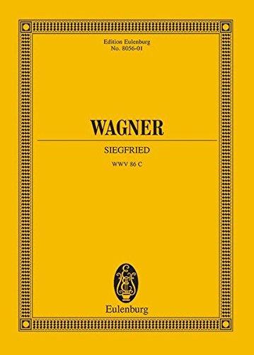 Siegfried: Der Ring des Nibelungen. WWV 86 C. Soli und Orchester. Studienpartitur. (Eulenburg Studienpartituren) (Englisch) Gebundenes Buch – 15. November 2013 Klaus Döge Egon Voss Richard Wagner London