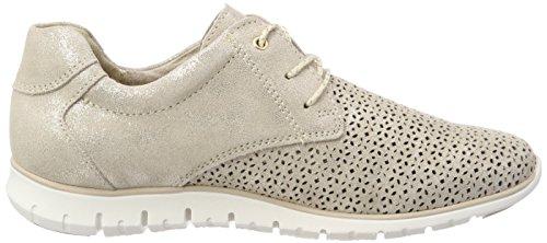 TOZZI Sneakers für Beige 23728 Dune Metallic Low MARCO premio Damen Top HqFww6U