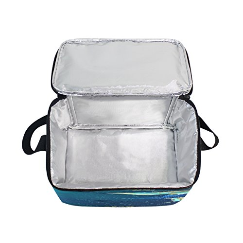 Sac pour à Enfants Magnifique d'école Femme déjeuner Tout Box Nique Papillon rétro Domoko Lunch Isotherme Sac Pique fourre Cooler Homme qHtdOgwn