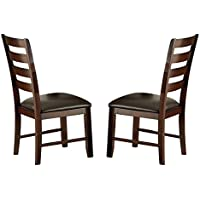Steve Silver Company Sao Paulo Side Chair, Set of 2, 20 x 22 x 39