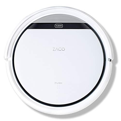ZACO V3sPro – Robot aspirador con 4 modos de limpieza, fácil manejo y programación con el mando a distancia, especial…