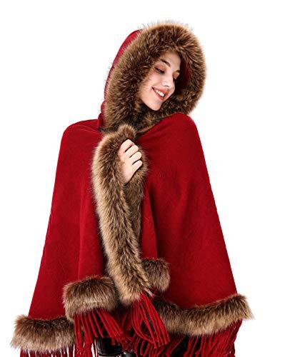 Faux Fur Shawl Wrap