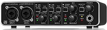 Behringer U-Phoria UMC204HD Audio/MIDI Interface