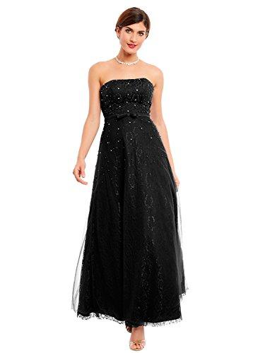 Beaded Slim Evening Gown - 6