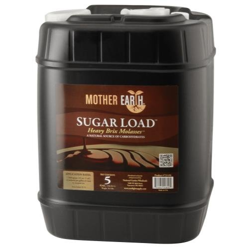 Mother Earth Sugar Load Heavy Brix Molasses 5 Gallon  1 Cs
