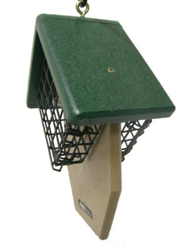 Birds Choice 2-Cake Suet Feeder with Angled Suet Baskets