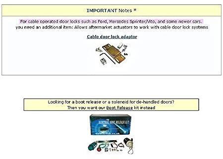 2wire slave central locking door motor solenoid actuator mot s 2wire slave central locking door motor solenoid actuator mot s amazon co uk car motorbike