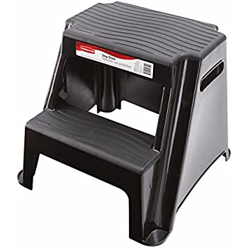 Ollieroo Step Stool Portable Lightweight Folding Steel