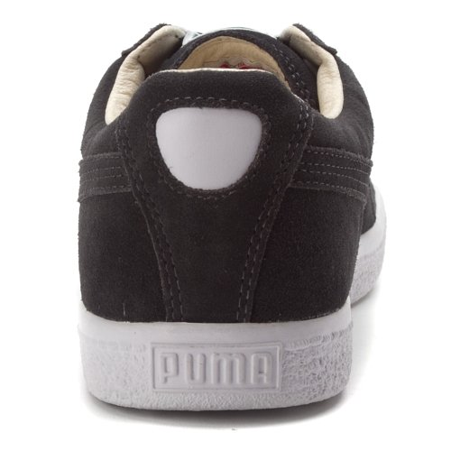 Puma Clyde Läder Tc Mens Mörk Skugga / Vit