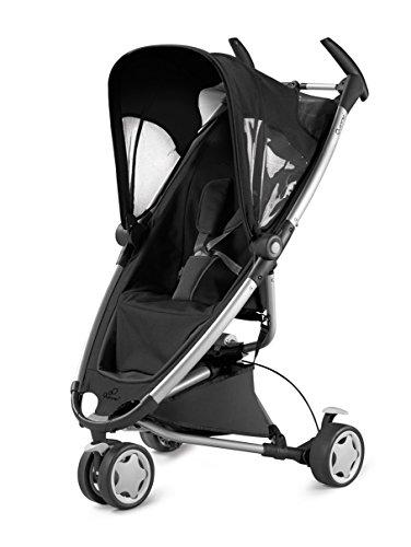 Quinny Zapp, Kinderwagen Buggy Kombiset mit Maxi-Cosi Babyschale erweiterbar, superleicht und kompakt, bis 15 kg, rocking black
