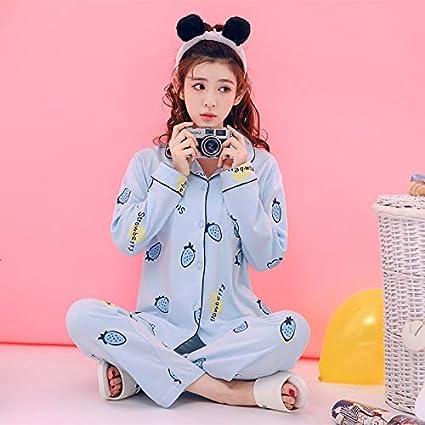 XGBNY Pijamas Conjuntos De Pijamas De Algodón Ropa De Dormir ...