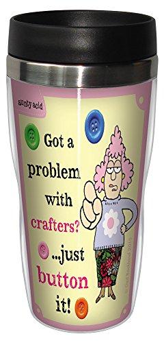 16-Oz Travel Mug, Aunty Acid