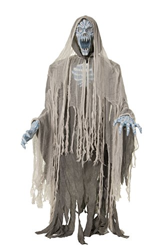 EVIL ENTITY LIFESIZE Haunted House 70in Halloween Prop Animated Ghost Zombie - CFP -