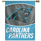 NFL Carolina Panthers 27-by-37-Inch Vertical Flag For Sale