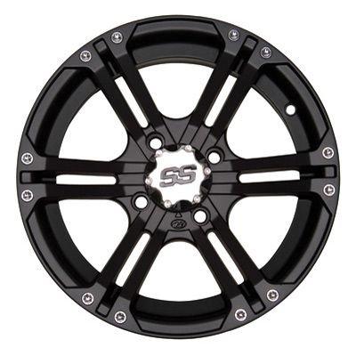 ITP SS212 ATV Wheels/Rims Black 14'' Honda Foreman Rancher SRA by Powersports Bundle (Image #2)