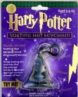 Harry Potter Sorting Hat Keychain Magically Sorts Into Hogwarts - Hogwarts Hat Sorting House