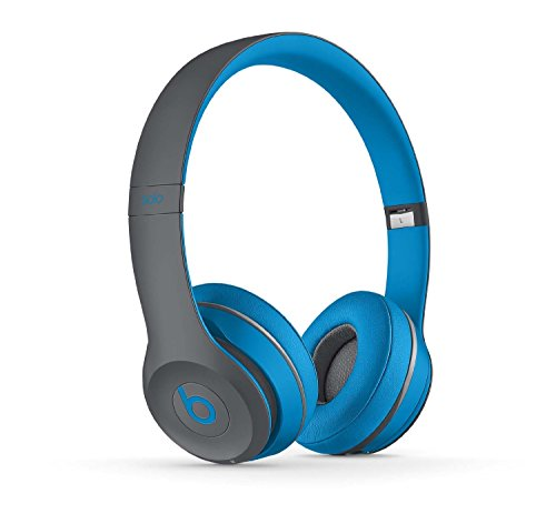 Beats Solo2 Wireless On-Ear Bluetooth Headphone - Flash Blue (Wireless Headphones Beats Blue)