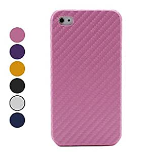 Knitting Style Hard Case for iPhone 4 and 4S (Assorted Colors) , Black