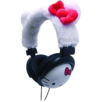 Hello Kitty Zebra Print DJ Headphones (35209)