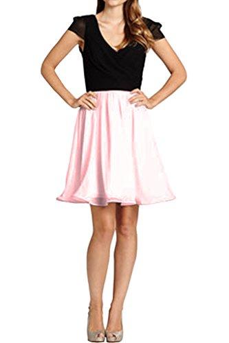 Prom A Della Da Cabina Da Doppio Festa V Spalla Partito Abito Vestito Glamorpous Scollo Vestito Rosa Avril xvIwqREBa