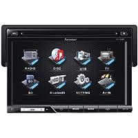 Farenheit TI-710B 1-DIN Multi Media Source Unit (With Detachable 7 LCD/Bluetooth)