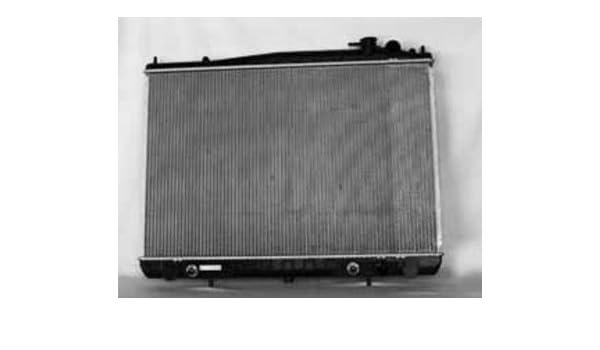 Radiator Support For 2000-2001 Nissan Xterra Primed Assembly