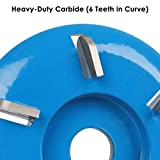 Wood Turbo Carving Disc (Curve) in 6 Teeth by