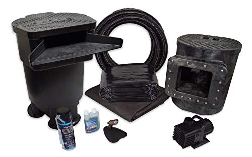 HALF OFF PONDS Savio Signature 3000 Complete Water Garden and Pond Kit, with 10 x 20 Foot PVC Liner