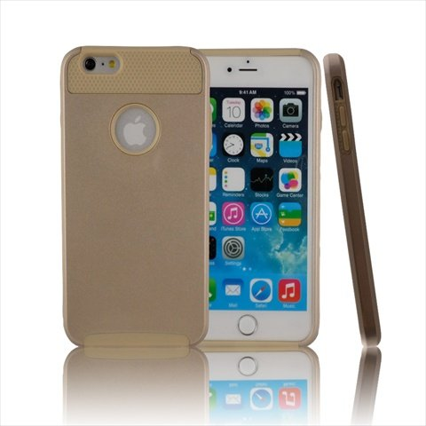 TCD for Apple iPhone 6 PLUS Hybrid [GOLD] Rugged Protective Defender Series Combo Case Cover Multiple Layers Shock Ultimate Protection [Includes FREE SCREEN PROTECTOR AND STYLUS PEN]