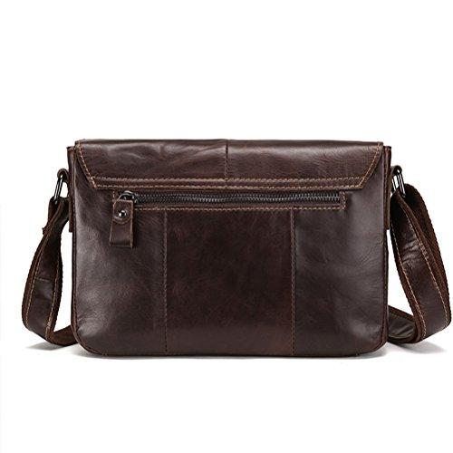 Travel Crossbody Leather Halloween Mens Shoulder Gift Satchel Daypacks Bag Zhhlinyuan Zipper Teens nUE0xwqY