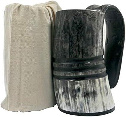 Mug Natural Buffalo Viking Drinking carving product image