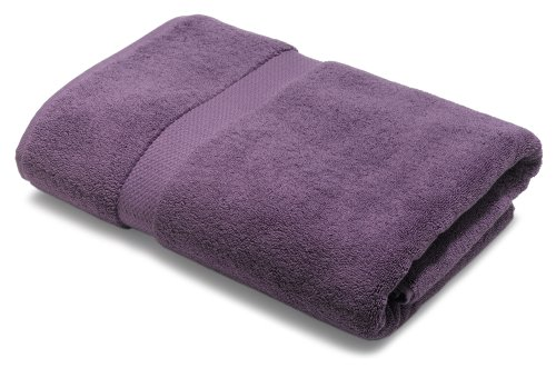 Pinzon 820-Gram Luxury Cotton Bath Towel, Plum