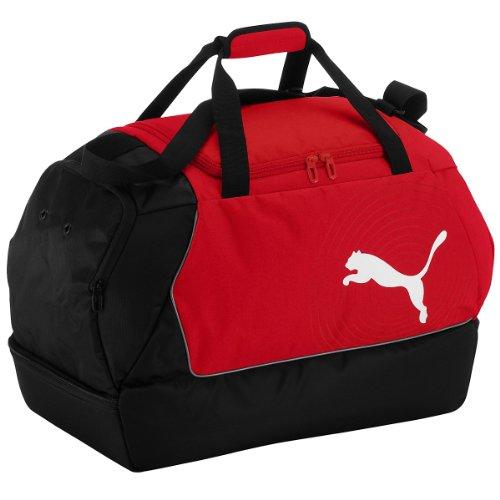 PUMA - Borsa sportiva Evopower Football, Rosso (Puma rosso-nero-bianco), 59 x 41 x 32 cm
