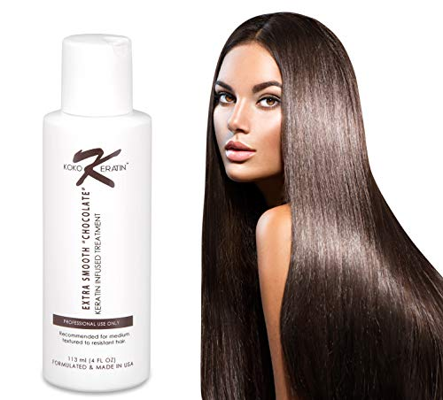 Koko Keratin Hair Treatment, At Home Keratin Treatment Kit, Keratin for Straightening Hair, Brazilian Keratin Treatment, Keratin Hair Treatment Straightening, Hair Straightening Treatment (Best At Home Keratin Smoothing Treatment)