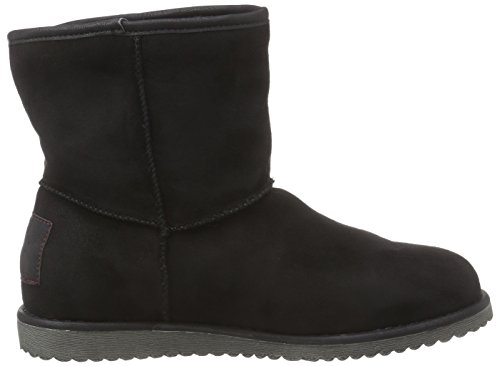 Bruno Banani Boot - botas de caño bajo de terciopelo mujer negro - Schwarz (Black 008)