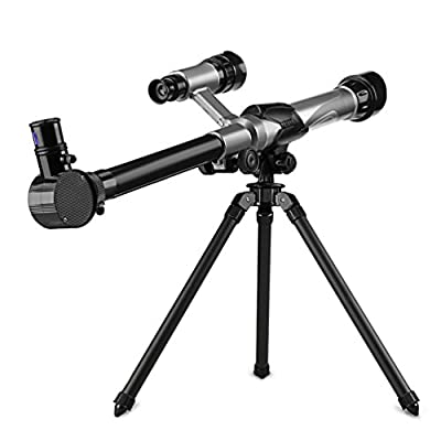 Telescope for kids?IOQSOF Nature Exploration Toys,Tripod,High-Definition Telescope Educational Toy for Kids?Light?Stable?Cool Easy to Use