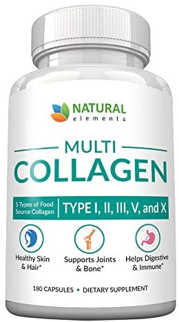 Multi Collagen Protein Capsules Proprietary product image