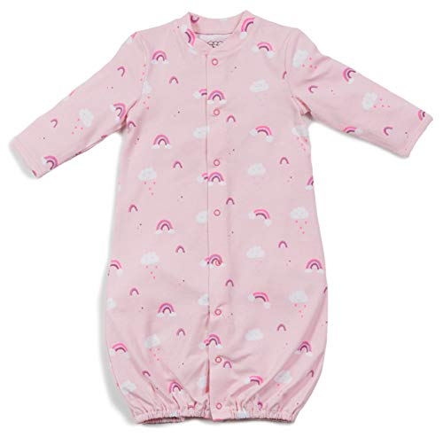 - Egg New York Layette Gown (NB-6M), Rainbow, OS